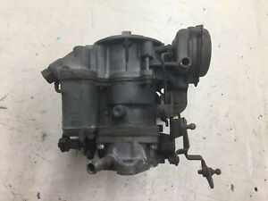 Carter Single Barrel Yf Carburetor 7228 S For 1978 79 Jeep Amc 232 258
