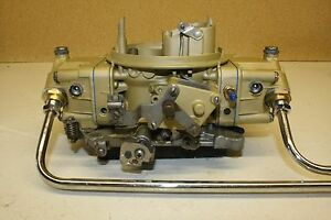 Holley 4776 2 4150 4 barrel 600 Double Pumper Square Bore Carburetor