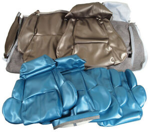 1989 1993 Corvette Standard Leather Like Seat Covers New