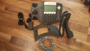 Polycom Soundpoint Ip 550 Voip Hd Voicephone 2201 12550 001 Telephone