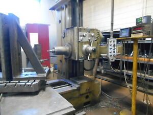 3 Wotan Horizontal Boring Mill With Rotary Table And Dro