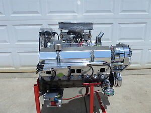 S B Chevy 350 Engine Hi Performance Turn Key 350 Hp