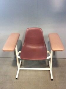 Custom Comfort Phlebotomy Chair Medical Healthcare Lab Blood Drawing Exam