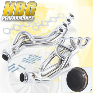 Racing S S Long Tube Performance Header For 1996 2004 Ford Mustang Gt 4 6l V8