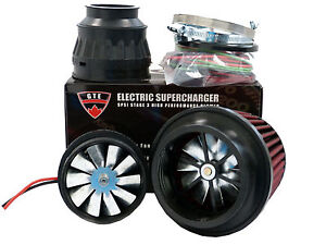 5psi Electric Supercharger Turbo Add Horsepower Torque Intake For Pontiac