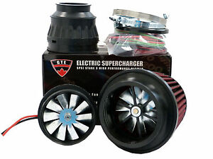5psi Electric Supercharger Turbo Add Horsepower Torque Intake For Audi
