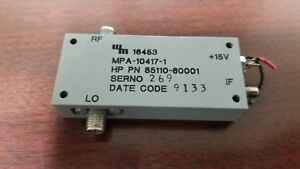 Hp 85110 60001 Active Mixer By Western Microwave
