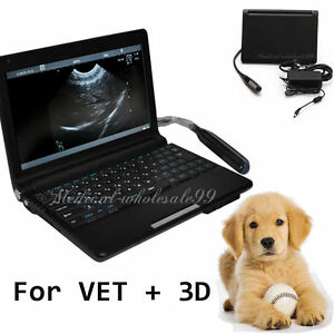 10 1 Animals veterinary Ultrasonic Ultrasound Scanner machine Trans rectal Probe