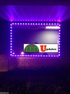 20ft Purple Storefront Led Light Module 5630 With Ul Power Supply