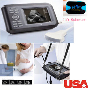 Us Ship Diagnostic Ultrasound Scanner Machine Convex Probe pulse Oximeter Gift