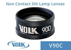 Volk 90d Clear Black Ring With Case V90c