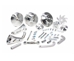 March Performance Sbc Sb Chevy Serpentine Pulley Conversion Kit 22020