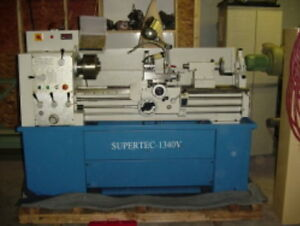 14 Swg 40 Cc Supertec 1440v Engine Lathe D1 4 With 1 9 16 Bore Variable Spe