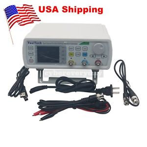 Fy6600 30m 30mhz Feeltech Dds 2ch Function Arbitrary Waveform Generator Us