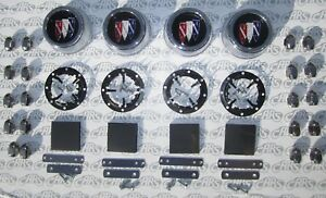 1968 1969 1970 Buick Special Skylark Gs Gsx Wheel Caps Nuts Kit Complete
