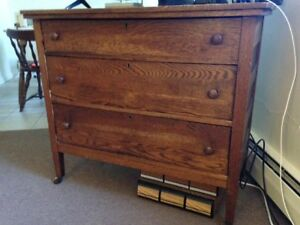 Antique Chest Of Drawers Dresser 1800s All Original