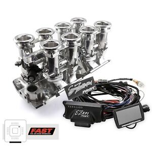 Big Block Chevy Polished Downdraft Fast Ez efi 2 0 Fuel Injection System