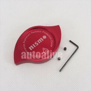Cnc Nismo Anodized Billet Aluminum Red Radiator Cap Cover For Nissan Infiniti