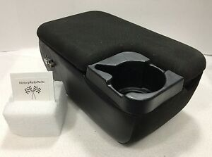 98 03 Ford Ranger Mazda B3000 Black Center Console With Cup Holder Oem