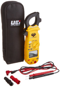 Uei Test Instruments Dl369 Digital Clamp on Meter With Test Leads Clamp Head