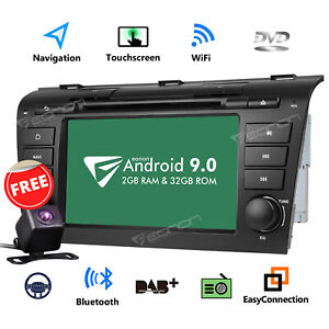 For Mazda 3 04 09 Car Stereo Radio Gps 7 Hd Android 8 0 Dvd Touch Screen Dvr W