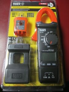 New Klein Tools Cl110kit Electrical Maintenance And Test Kit