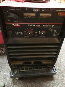 lincoln Idealarc R3r 400 Welder preowned