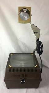 Vintage Buhl Portable Overhead Projector Model 90 Ed 14 W Bulb Working