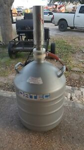 Nitrogen Tank With Ortec Glp 10180 07p Low Energy Hpge Scintillation Detector