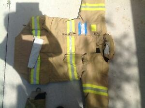 Morning Pride Turnout Gear Coat Size 40 44 46 Firefighter Halloween