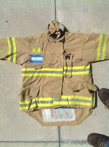 Morning Pride Fire Fighter Turnout Jackets Size 42 44 Item 305 314 2004 2007