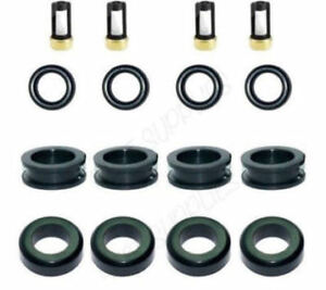 Fuel Injector Service Repair Kit Orings Filters Pintle Caps For Ford Mazda