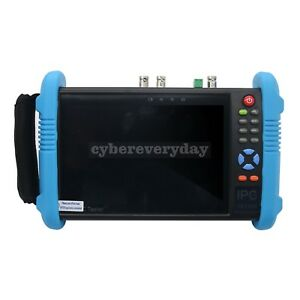 Ipc9800plus Adhs 7 Touch Ip Cctv Ip Camera Tester Monitor H 265 4k Video Test