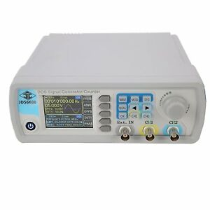 Jds 6600 15mhz Dual channel Dds Function Waveform Signal Generator Counter Ce