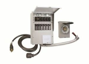 Reliance Controls 306crk Pro tran 2 6 Circuit Transfer Switch Kit