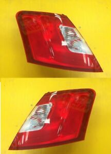Taillight Pair Ford Taurus 2010 2012 Red Edging Fo2819149 Fo2818149