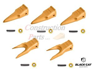 1u3202 Caterpillar Style Tiger twin Tiger Bucket Digging Teeth W Pins