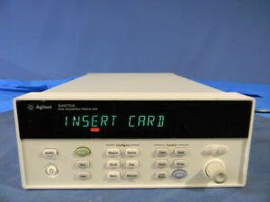 Agilent 34970a Data Acquisition switch Unit With Rs 232 And Gpib 30 Day Warranty