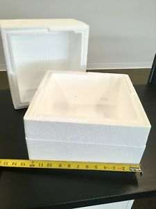 Styrofoam Insulated Shipping Cooler Lot Of 100 2500 Total Available