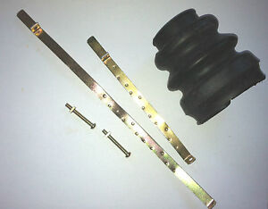 1957 1962 Plymouth Dodge Chrysler Desoto Universal Joint Boot And Clamp Kit