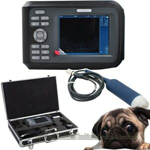 Handheld Veterinary Utrasonic Machine Ultrasound Scanner System Animals Vet Pet