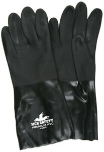 1 Dozen Memphis Double Dip Sandy Pvc Work Gloves Large