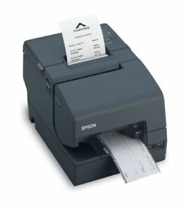 Epson Tm h6000iv Thermal Impact Printer Serial Usb Connections M253a