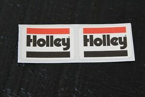 Holley Carb Carburetor Fuel Bowl Stickers Decals Vintage 4776 4777 4778 4779