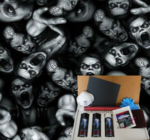 Hydrographics Dip Kit Activator Water Transfer Film Mad Zombies