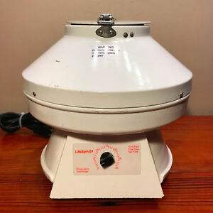 Lifeline Medical Lifespin 6t Physicians Centrifuge Usa Fully Cleaned