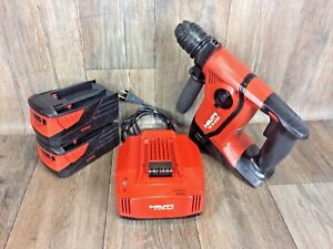 Hilti te 6 a 36 Kit 36v Free Case Li ion Rotary Hammer Drill drs sds plus 7