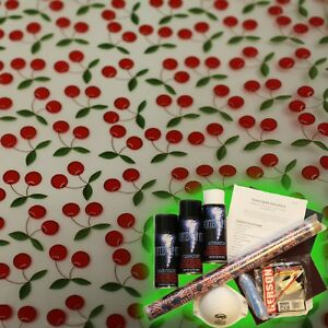 Hydrographics Dip Kit Activator Water Transfer Film Hydro Cherries