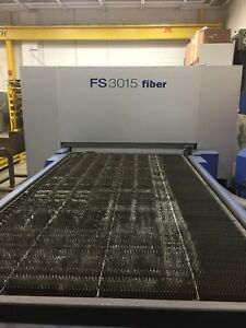 Han Kwang Fs3015 2013 3kw Ipg Fiber Laser Excellent Condition very Low Hours