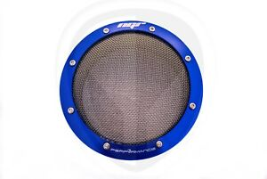 New Ngr Performance Turbo Filter 4in Turbo Protector Guard 4 Inch Blue